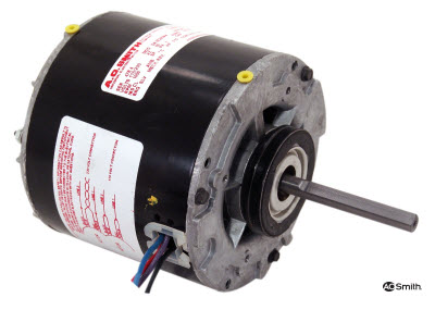 615 AO Smith 5.0 Diameter 1/10HP 1550RPM 230V GE 21/29 Frame Replacement Motor