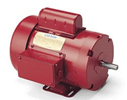 110086.00 Leeson Farm Duty Motor, 1/2HP, 1PH, 1725RPM, 230V, 56, TEFC