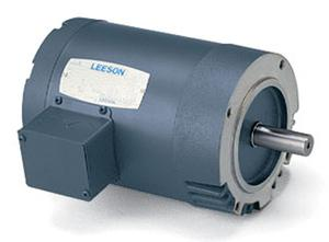 100049.00 Leeson 1/2HP 3PH 1725RPM 230/460V S56C Frame C-Face Motor w/o Base