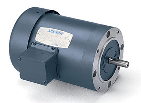 110048.00 Leeson 1HP 3PH 1725RPM 230/460V 56C Frame C-Face Motor w/o Base